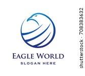 global eagle logo vector | Shutterstock .eps vector #708383632
