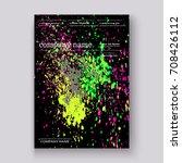 neon colorful explosion paint