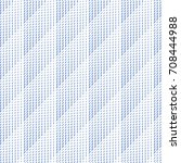 vector wave pattern. geometric... | Shutterstock .eps vector #708444988