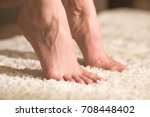 the legs on the floor | Shutterstock . vector #708448402