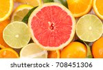 Small photo of grapefruit and citrous fruit