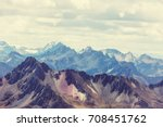 beautiful mountains landscapes... | Shutterstock . vector #708451762
