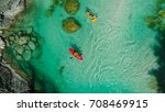 Whitewater Kayaker On The...