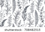 vector seamless pattern with... | Shutterstock .eps vector #708482515