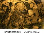 marbled abstract background.... | Shutterstock . vector #708487012