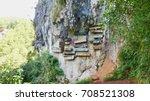 hanging coffins  traditional...   Shutterstock . vector #708521308