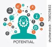 potential design concept.... | Shutterstock .eps vector #708525832