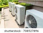 air compressor machine on...   Shutterstock . vector #708527896