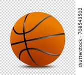 basket ball. vector | Shutterstock .eps vector #708543502