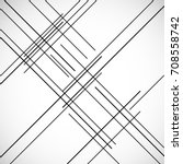 abstract hipster lines... | Shutterstock .eps vector #708558742