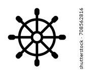ship's wheel   Shutterstock .eps vector #708562816
