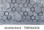background empty interior wall... | Shutterstock . vector #708566326