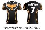 t shirt sport design  vector... | Shutterstock .eps vector #708567022
