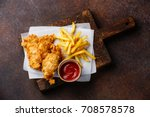 fish and chips british fast... | Shutterstock . vector #708578578