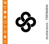 mathematics simple icon | Shutterstock .eps vector #708586846