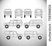 automobile.template for graphic ... | Shutterstock .eps vector #708588826