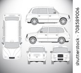 automobile.template for graphic ... | Shutterstock .eps vector #708589006