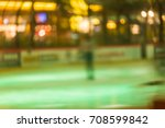 ice arena skating indoor rink... | Shutterstock . vector #708599842