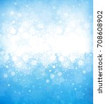snowflakes background for... | Shutterstock . vector #708608902