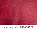 red leather background with... | Shutterstock . vector #708634192