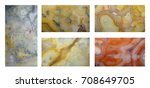 stones and minerals. the... | Shutterstock . vector #708649705