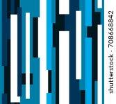 seamless abstract vector... | Shutterstock .eps vector #708668842