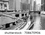 Chicago City View With River....