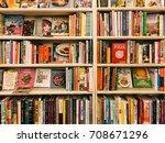 bucharest  romania   may 06 ... | Shutterstock . vector #708671296