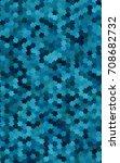 dark blue polygonal... | Shutterstock . vector #708682732
