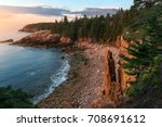 Rugged Acadia Coast At Sunrise