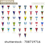 flags of america  all american... | Shutterstock .eps vector #708719716