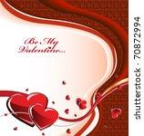 valentines background   Shutterstock .eps vector #70872994