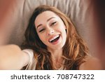 picture of young amazing happy... | Shutterstock . vector #708747322