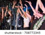 motion blur movement of... | Shutterstock . vector #708772345