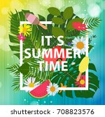 summer abstract background ... | Shutterstock . vector #708823576