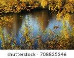 beautiful nature landscape ... | Shutterstock . vector #708825346