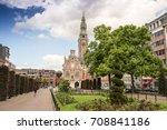 leuven  belgium   june 9th 2017 ... | Shutterstock . vector #708841186