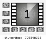 the timer countdown cinema... | Shutterstock .eps vector #708848338