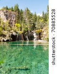 Hanging Lake And Clear Green...
