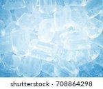 ice for background   Shutterstock . vector #708864298