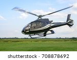 a helicopter taking off from... | Shutterstock . vector #708878692