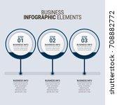 modern infographic timeline... | Shutterstock .eps vector #708882772