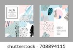 collection of creative... | Shutterstock .eps vector #708894115