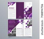 brochure design  brochure... | Shutterstock .eps vector #708894706