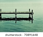 An Old Jetty At Starnberg Lake...