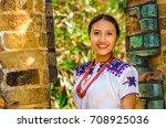 quito  ecuador   august  30...   Shutterstock . vector #708925036