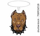 Thinking Dog Pitbull