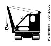 excavator | Shutterstock .eps vector #708927202