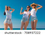 group of friends together... | Shutterstock . vector #708937222