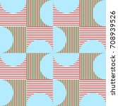 pink and blue vector geometric...   Shutterstock .eps vector #708939526